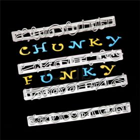 Funky Cetvel Alfabe Set (Büyük Harf)