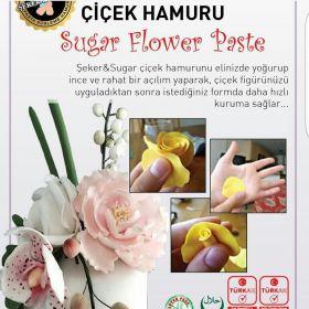 Seker Sugar Çiçek Hamuru (Beyaz) (500 gr)