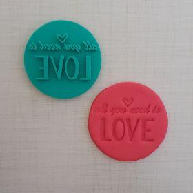 Mühür Kalıp 2 (All you need is Love)