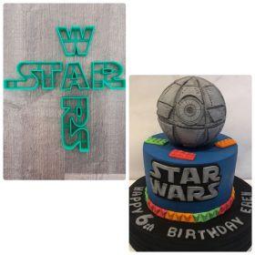 Starwars Logo Kalıp