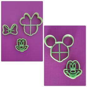 Minnie & Mickey Kurabiye Kalıbı