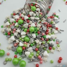 Karışık Renkli Sprinkles