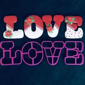 LOVE Kalıp Seti