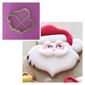 Noel Baba Kurabiye Kalıbı