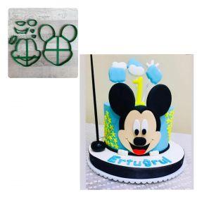Pasta Boy Büyük Mickey Kalıp